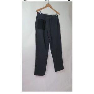 lululemon athletica Pants - Lululemon dark grey charcoal french terry L